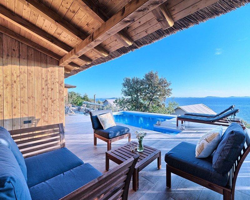 Bungalow for 4 terrace Golden Haven resort