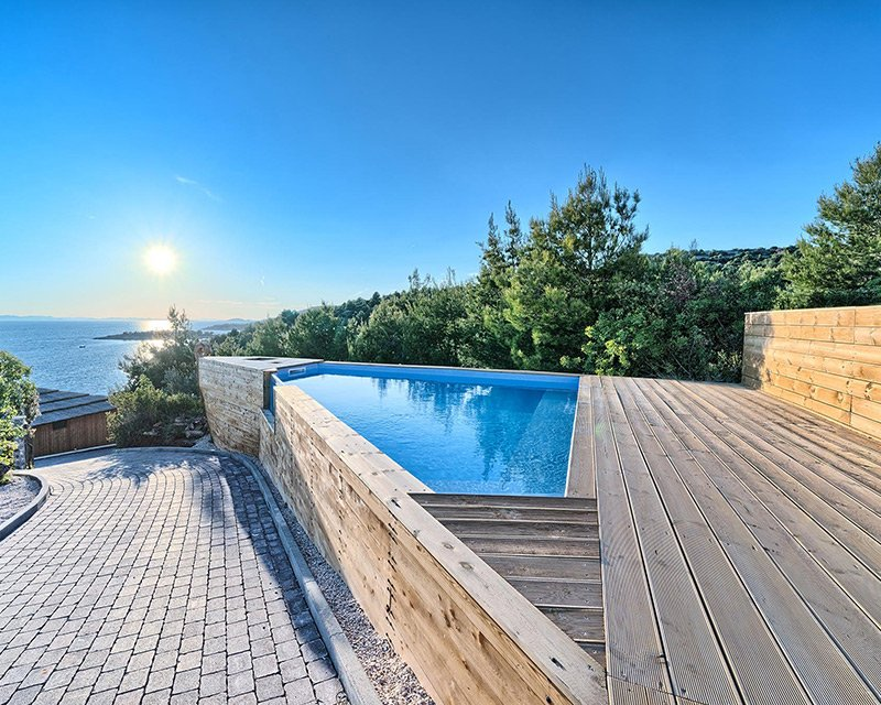 Glamping for 4 terrace swimming pool Golden Haven