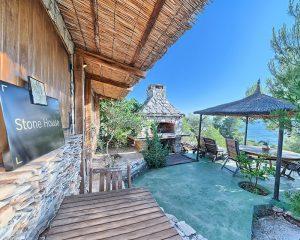 Stonehouse terrace Golden Haven resort Murter Croatia