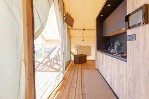 Glamping for 4 Golden Haven resort Croatia Murter