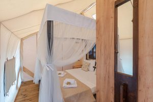 Glamping for 4 main room Golden Haven