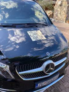 Vehicle for airport transfer Golden Haven