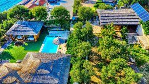 Golden Haven swimming pool Murter Croatia