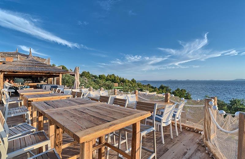Restaurant sea view Golden Haven