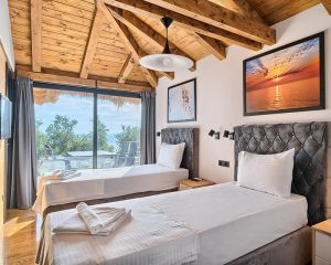 Villa Maria bedroom for 2 Golden Haven resort Murter
