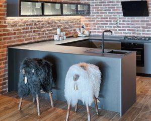 Villa Maria kitchen Golden Haven resort Murter