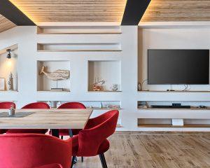 Villa Maria living room Golden Haven Murter Croatia
