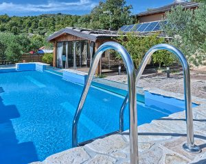 Villa Maria swimming pool Golden Haven Murter Croatia