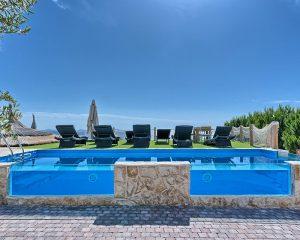 Villa Maria swimming pool sea view Golden Haven