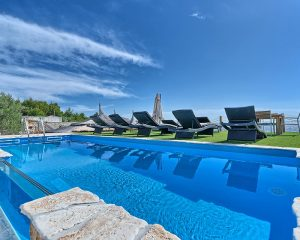 Villa Maria swimming pool sea view Golden Haven-Murter